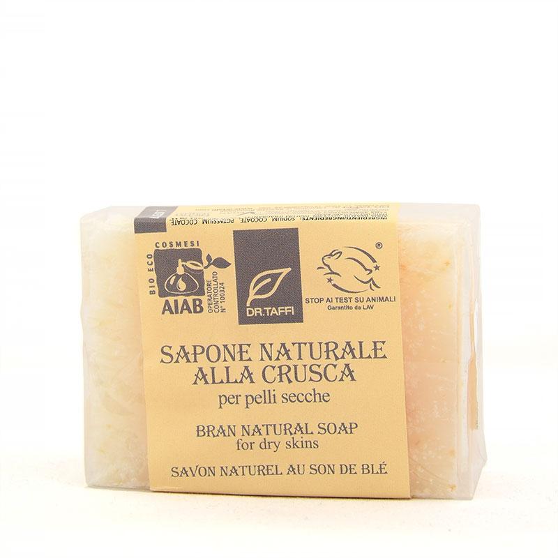 bran natural soap