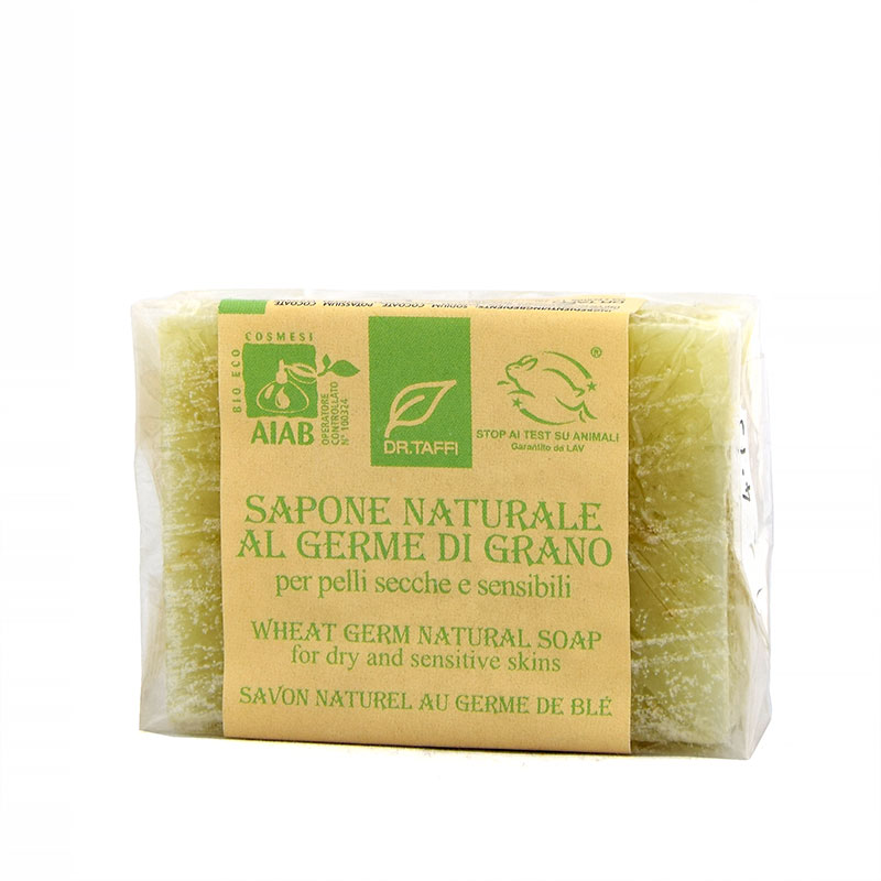 wheat germ natural soap