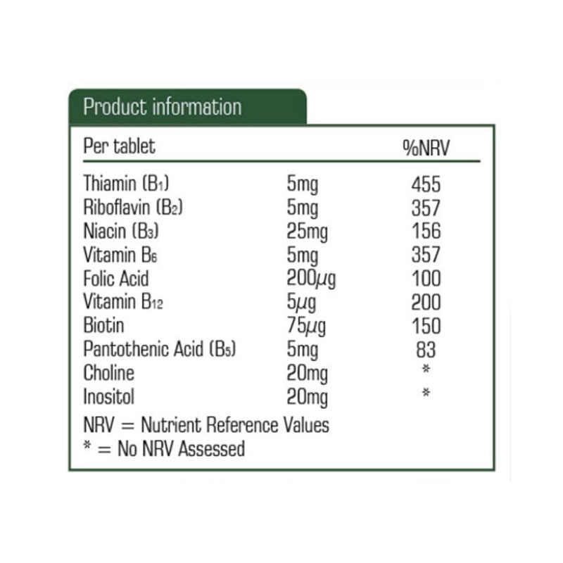 B Complex Product Information