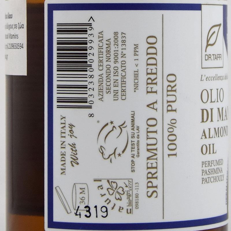 almond oil pashmina patchouly