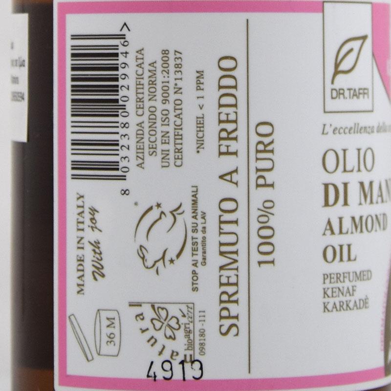 almond oil perfumed kanaf
