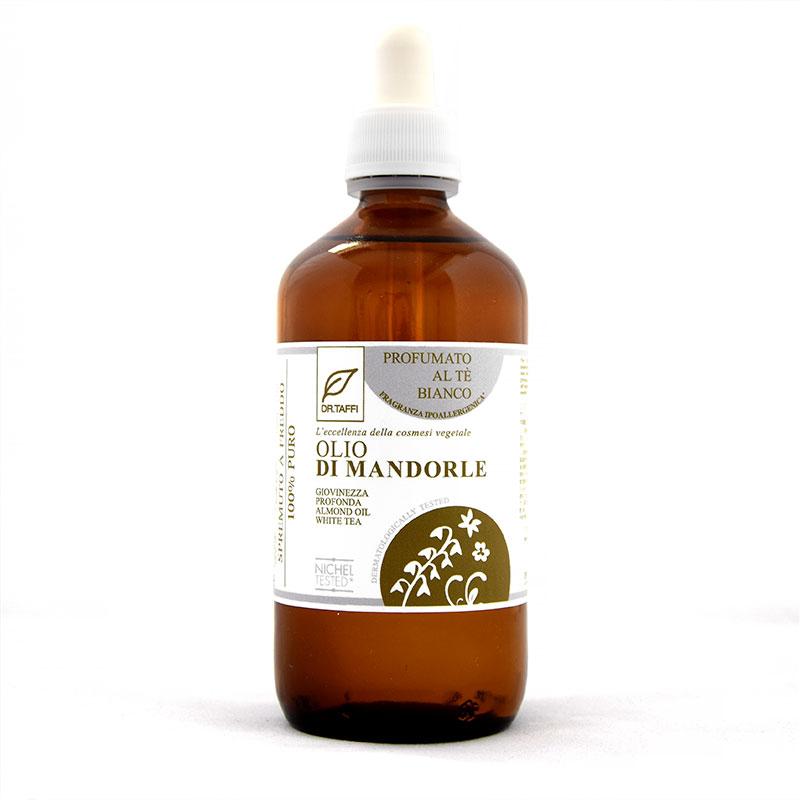 almond oil white tea