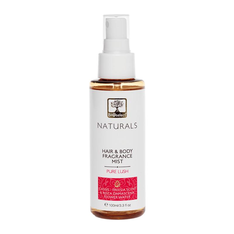 Bioselect Ελαφρύ Άρωμα για τα Μαλλιά & το Σώμα Pure Lush 100ml
