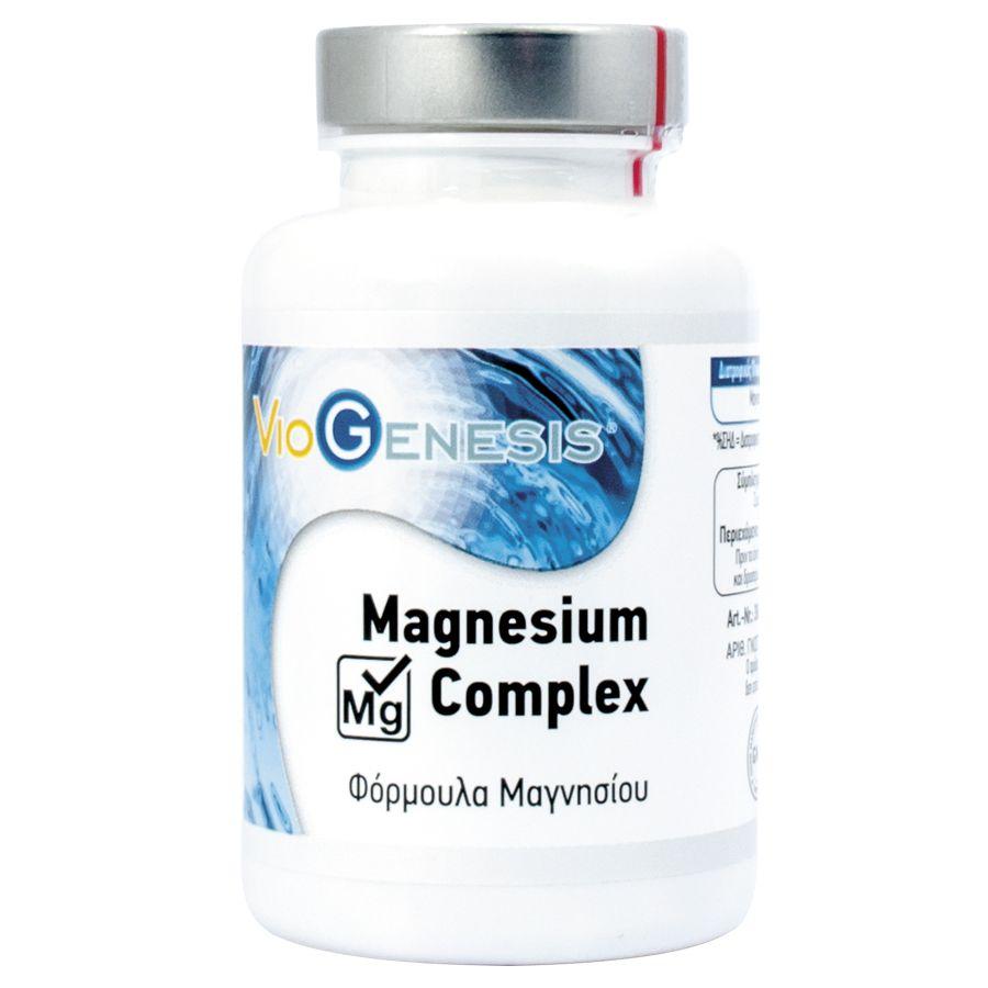 Viogenesis Magnesium Complex 120 κάψουλες
