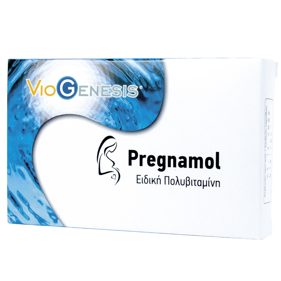 Viogenesis Pregnamol 30 κάψουλες