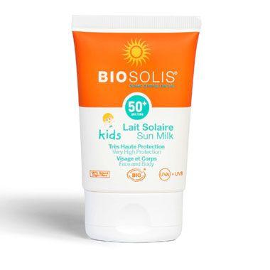 Biosolis Βιολογικό Αντηλιακό για Μωρά καί Παιδιά Sun Milk Kids SPF50 100ml