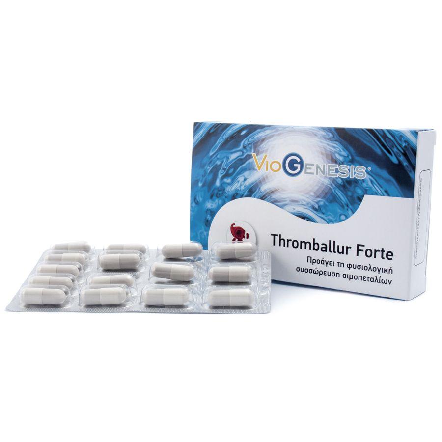 Viogenesis Thromballur Forte 30 κάψουλες