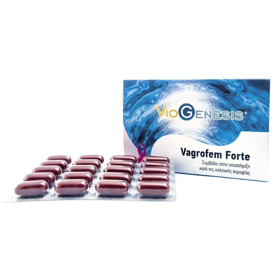 Viogenesis Vagrofem Forte 80 κάψουλες - Discontinued