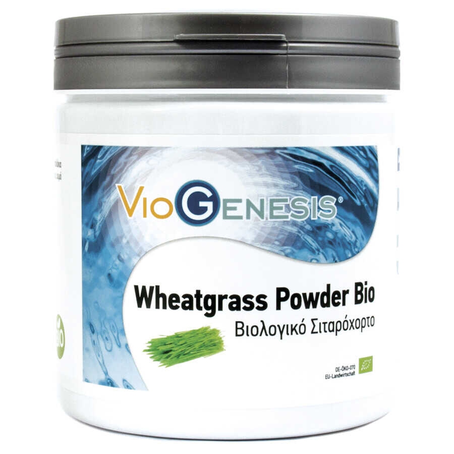Viogenesis Wheatgrass Powder Bio 250gr Σκόνη - Discontinued