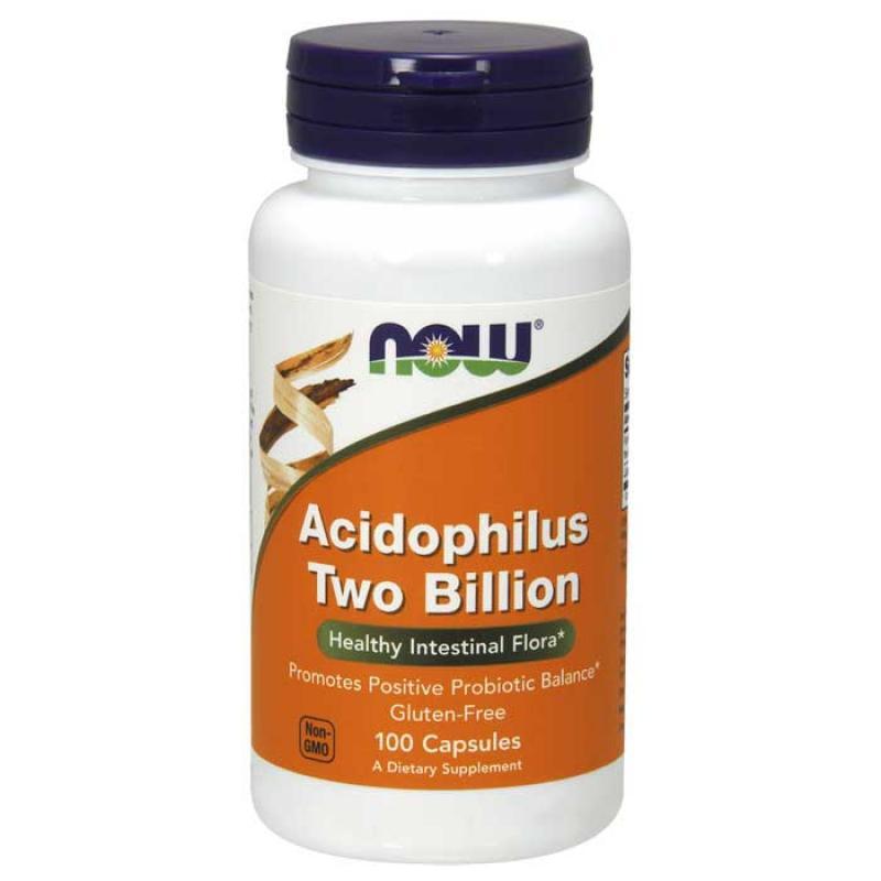 Now Foods Acidophilus Two Billion 100 κάψουλες