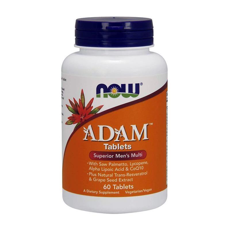 Adam Multi Vitamin for Men 60 ταμπλέτες - Now / Πολ?βιταμίνη