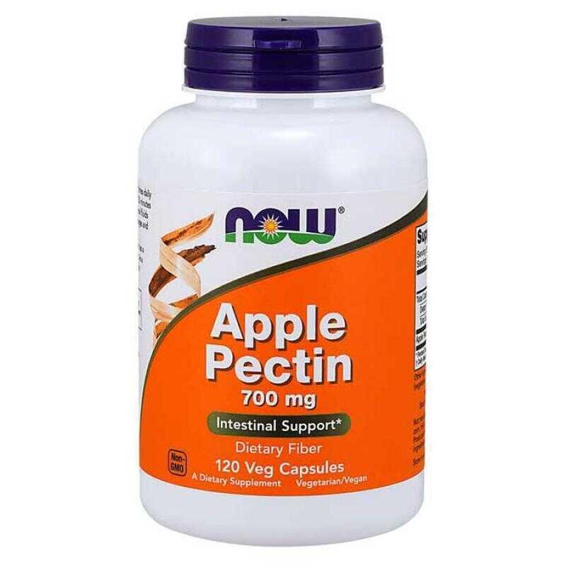 Apple Pectin 700 mg 120 caps - Now Foods