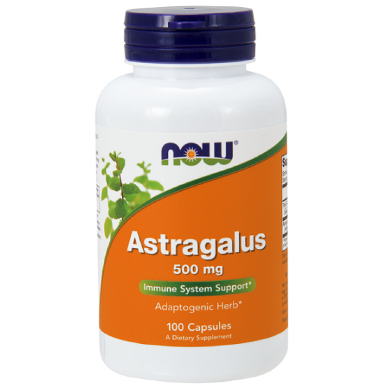 Now Foods Astragalus 500 mg 100 κάψουλες