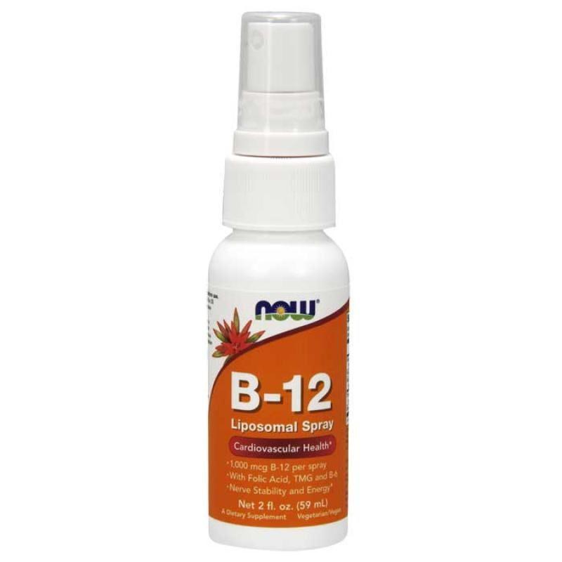 Now Foods B-12 Liposomal Spray 59ml
