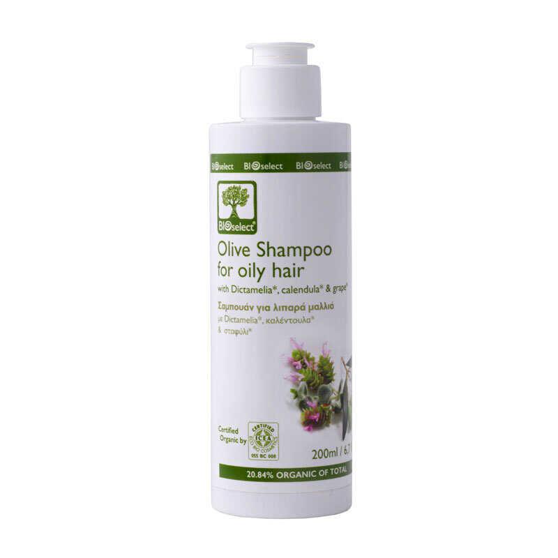Bioselect Σαμπουάν για Λιπαρά Μαλλιά 200ml