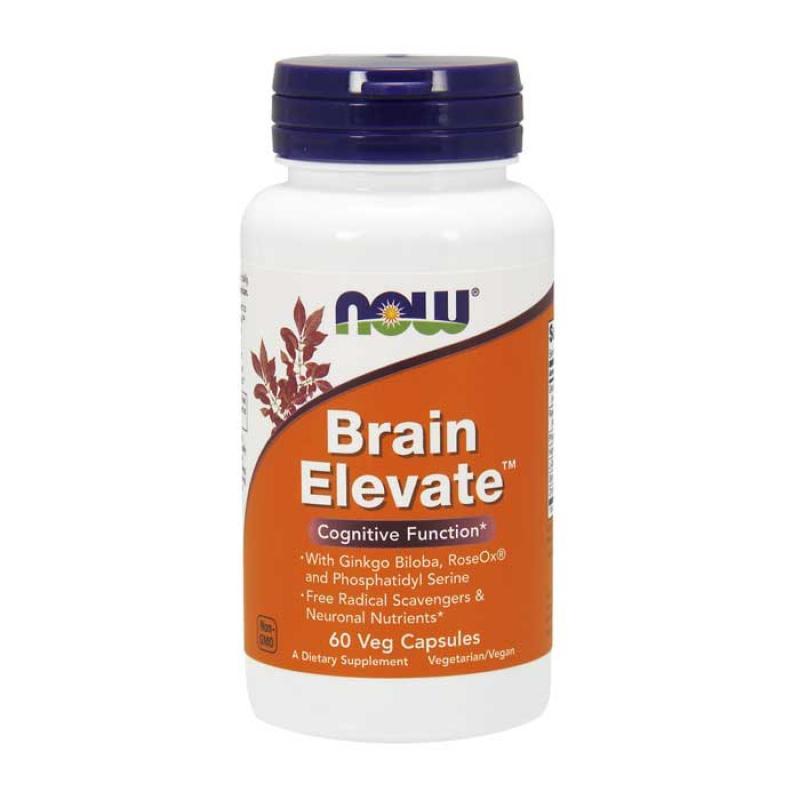 Now Foods Brain Elevate™ 60 κάψουλες
