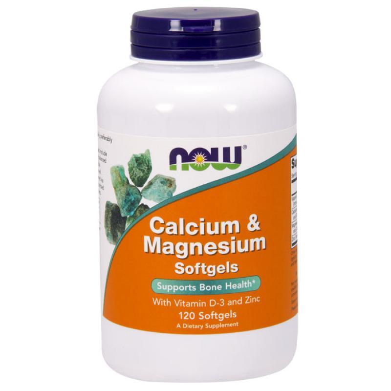 Now Foods Calcium & Magnesium 120 μαλακές κάψουλε
