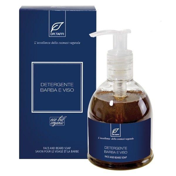 Dr.Taffi Σαπούνι Προσώπου & Γεννειάδας Organic Face and Beard Soap 250ml