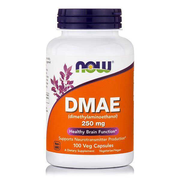 Now DMAE 250 Mg 100 Κάψουλες
