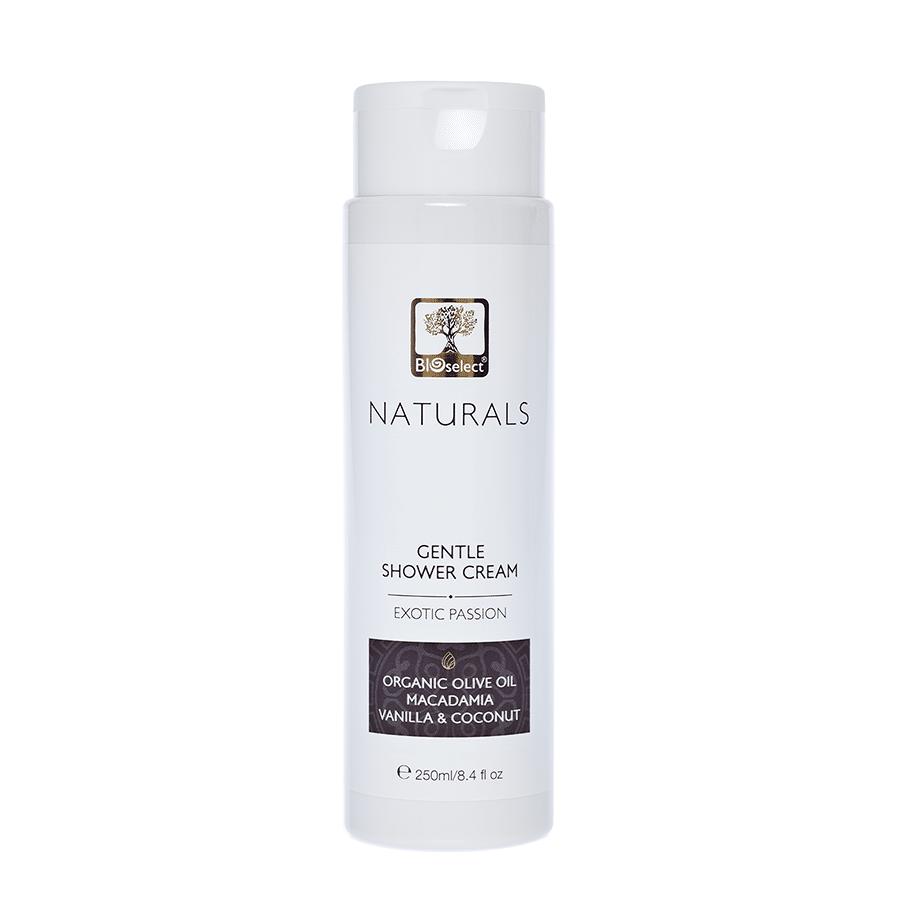 Bioselect Gentle Shower Cream Exotic Passion - 250ml