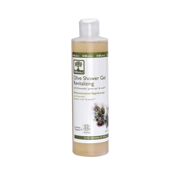 Bioselect Olive Shower Gel Revitalizing - 250ml
