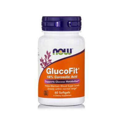Now Glucofit 60 Μαλακές Κάψουλες
