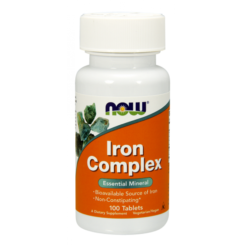 Now Foods Iron Complex Essential Mineral 100 ταμπλέτες