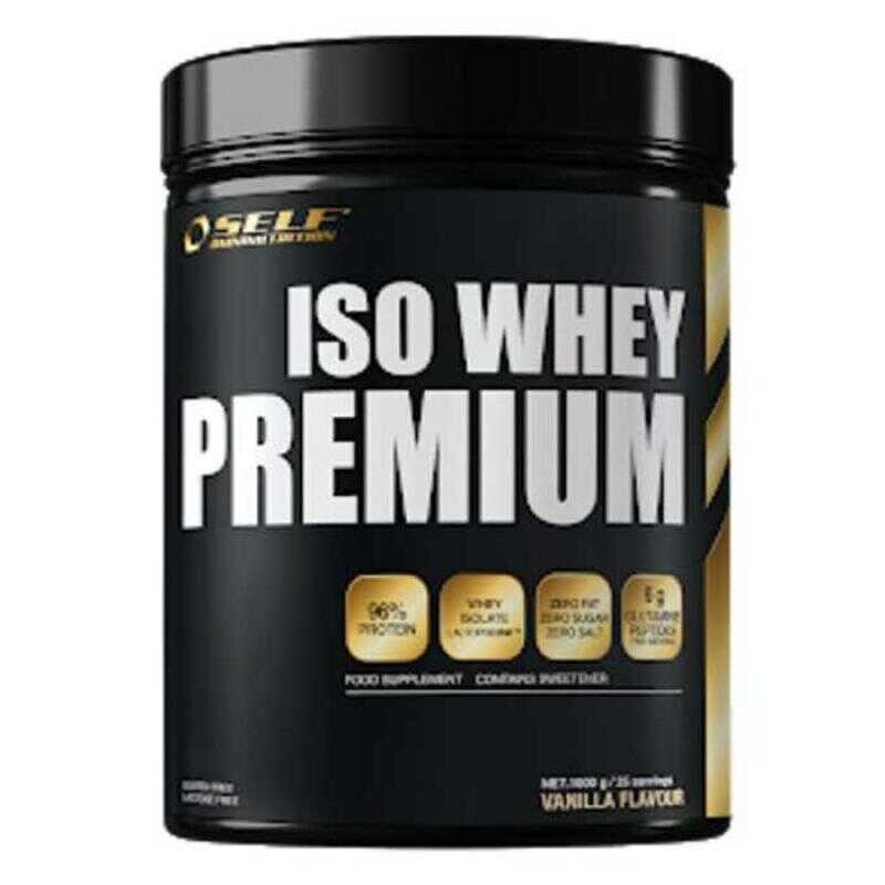 Self Omninutrition Iso Whey Premium 1000gr Vanilla