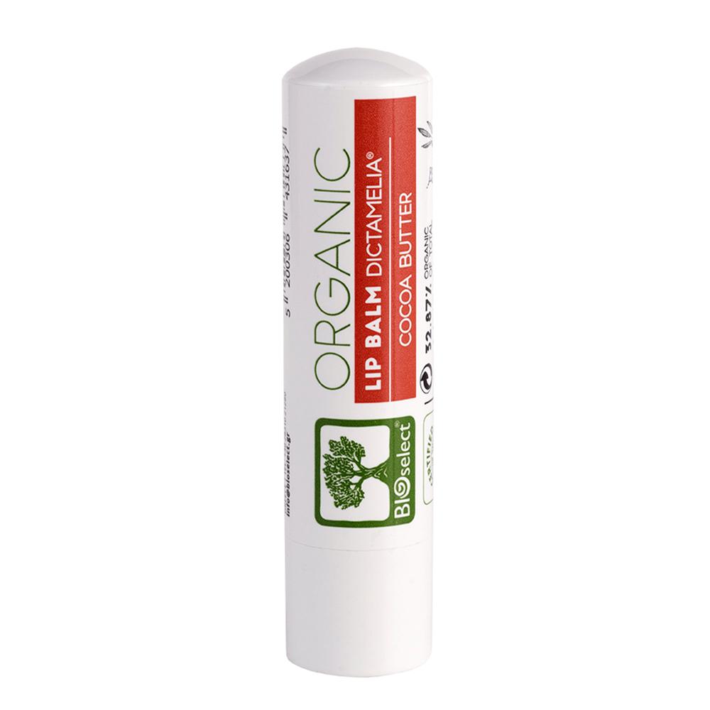Bioselect Φυσικό Lip Balm για τα Χείλη με Βούτυρο Κακάο