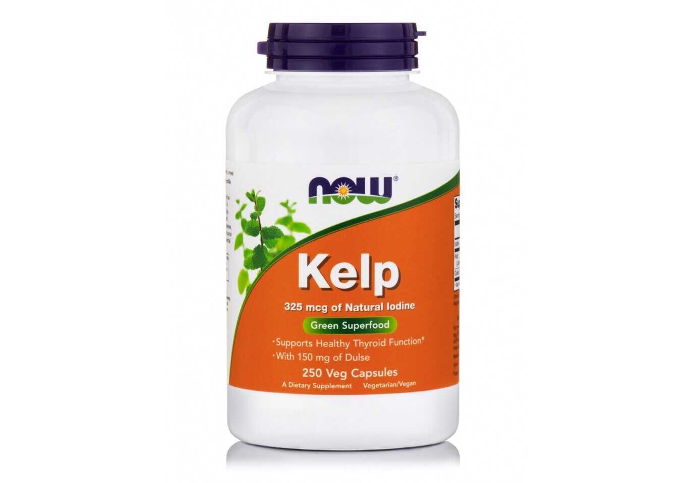 Now Foods Kelp 325 Mg Veg Caps