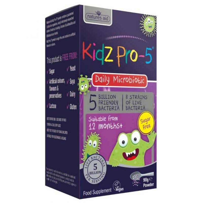 Natures Aid Kidz Pro-5 Daily Microbiotic 90gr