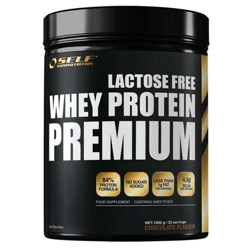 Self Omninutrition Lactose Free Whey Premium 1000gr Chocolate