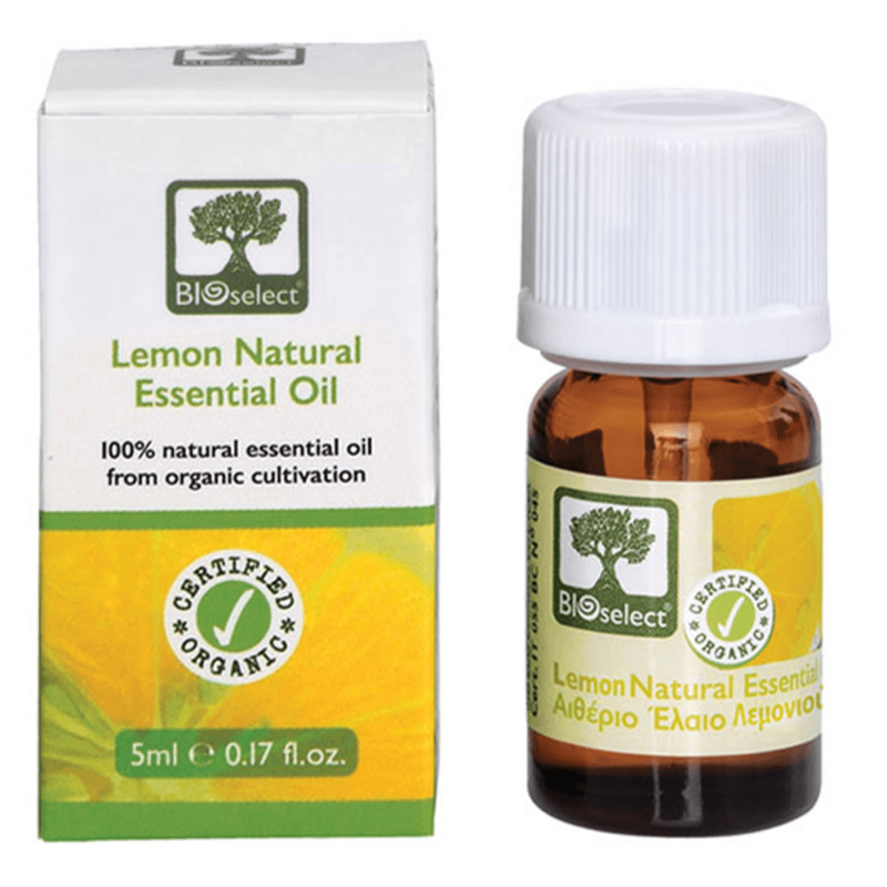 Bioselect Organic Αιθέριο Έλαιο Λεμονιού 5ml