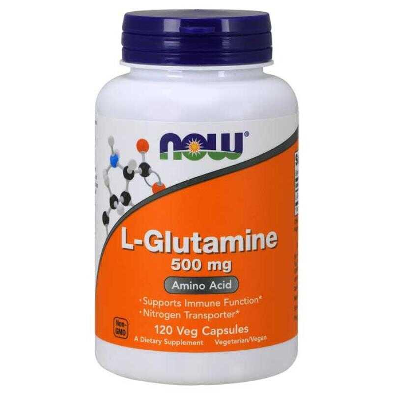 Now Foods L Glutamine 500mg 120 κάψουλες