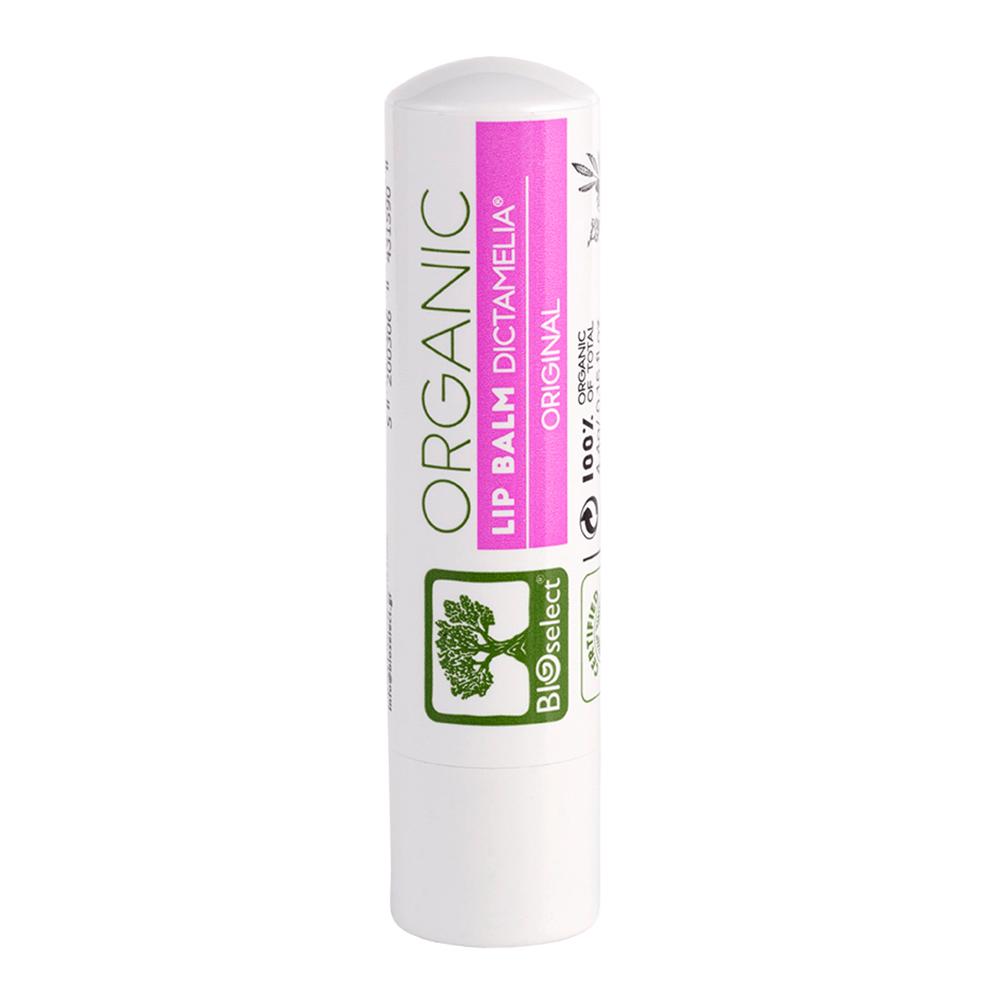 Bioselect 100% Organic Lip Balm για τα Χείλη με Dictamelia