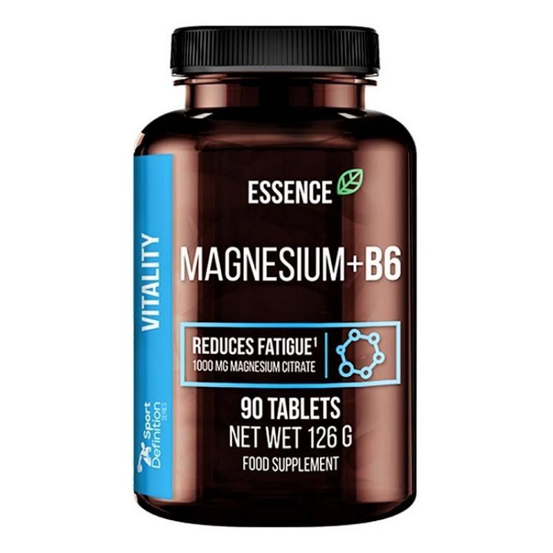 Magnesium + B6 90tabs - Essence Nutrition