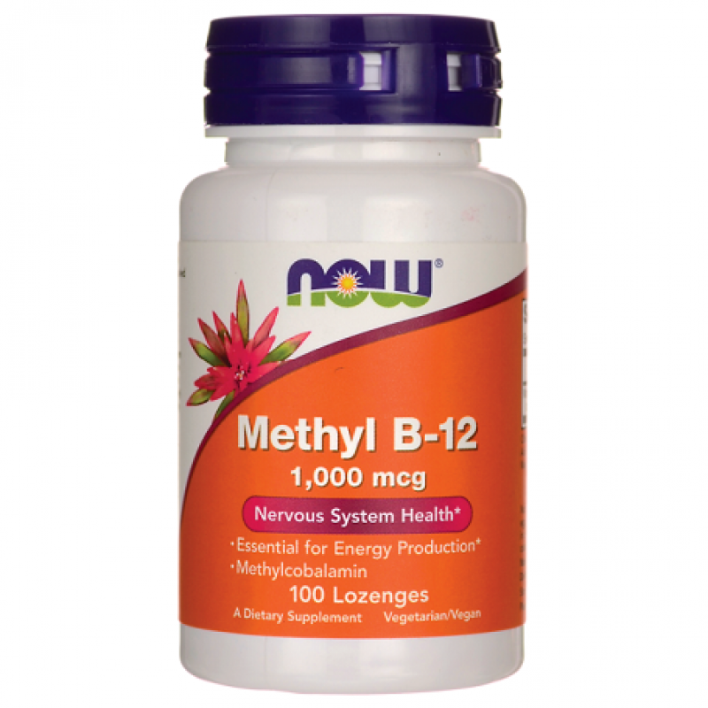 Now Foods Methyl B12 1000 mcg 100 παστίλιες