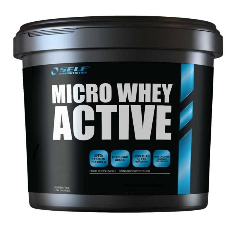 Self Omninutrition Micro Whey Active 2000gr Vanilla