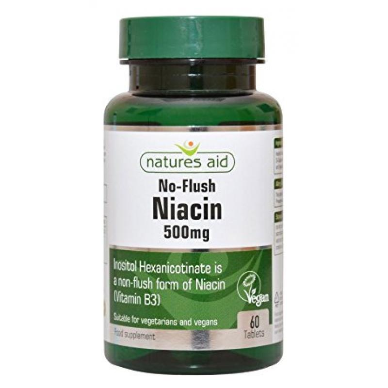 Natures Aid Niacin No-Flush 500mg 60 ταμπλέτες