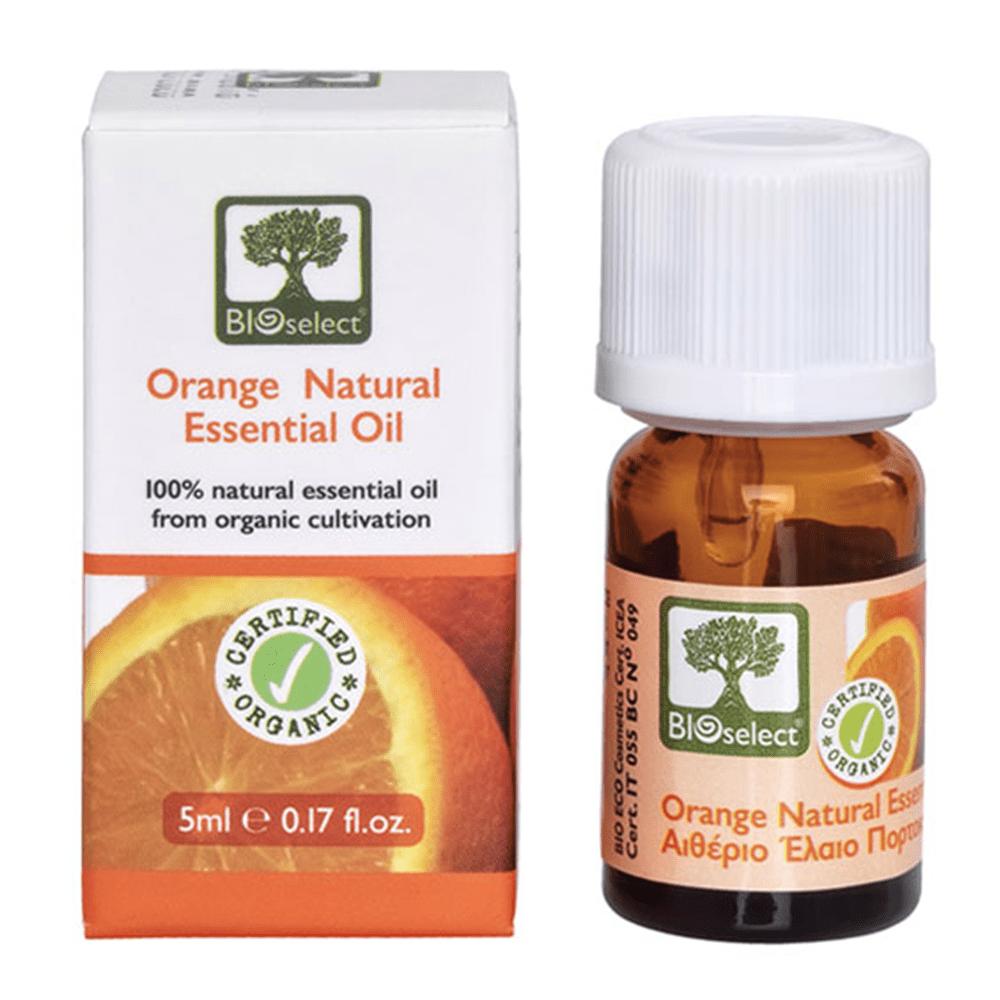 Bioselect Organics Αιθέριο Έλαιο Πορτοκαλιού 5ml