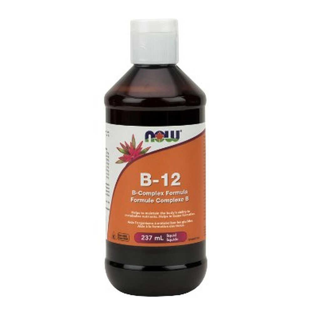Now Vitamin B-12 Liquid Complex Vegeterian 237ml