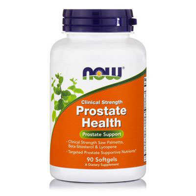 Now Prostate Health Clinical Strength 90 Μαλακές Κάψουλες