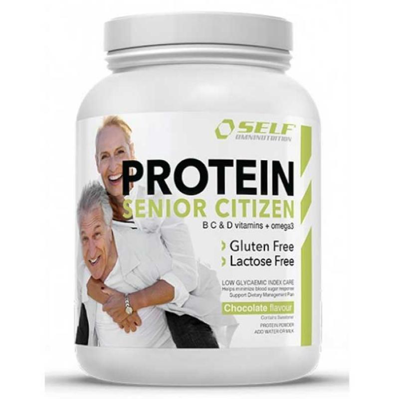 Self Omninutrition Protein Senior Citizen 500gr Chocolate