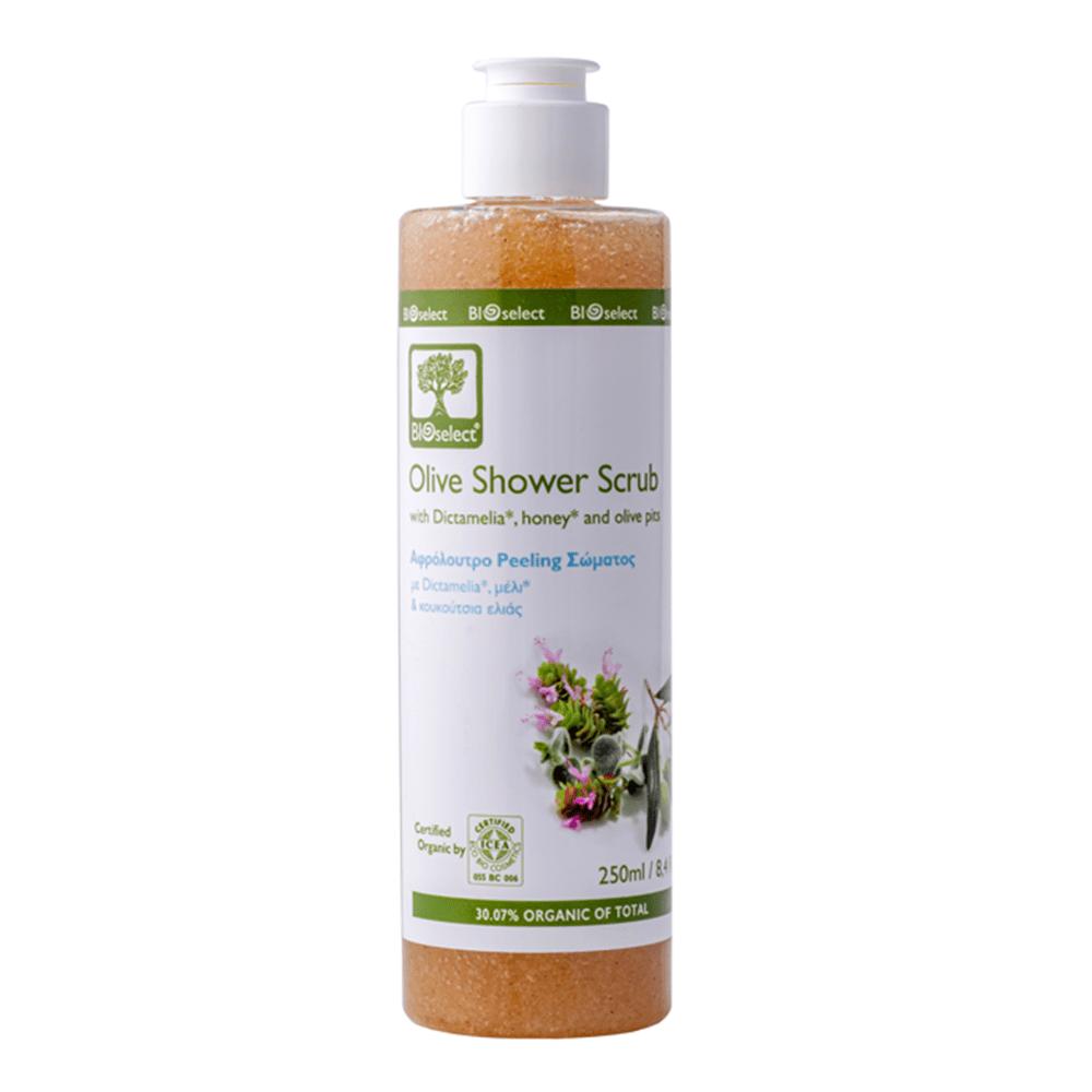Bioselect Olive Shower Scrub 250ml
