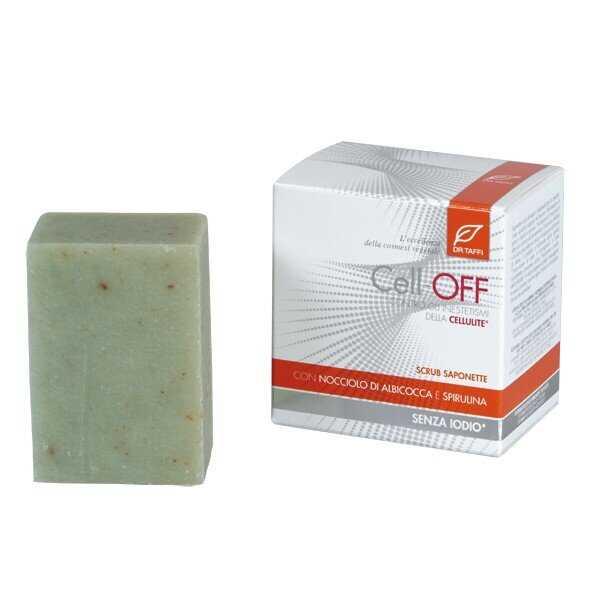Dr.Taffi Σαπούνι Απολεπίσης για Κυτταρίτιδα Cellulite Scrub Soaps 2X100gr
