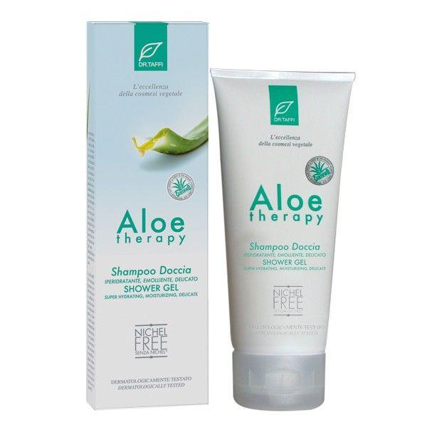 Dr.Taffi Αφρόλουτρο για Ευαίσθητες Επιδερμίδες Organic Shower Gel Aloe Vera & Vitamin B5 for Dry & Sensitive Skin 200ml