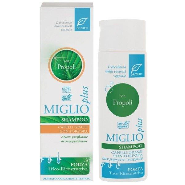Dr.Taffi Σαμπουάν με Πρόπολη για Μαλλιά Λιπαρά/Πιτυρίδα Organic Propolis Shampoo for Oily & Dandruff Hair 250ml