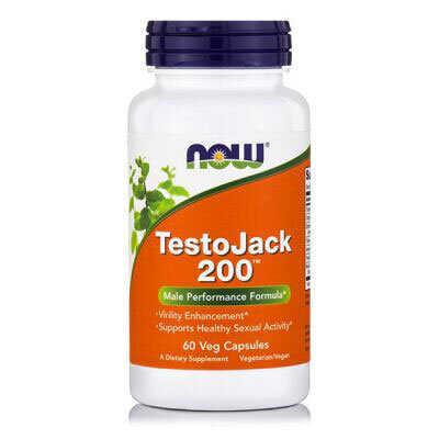 Now TestoJack 200 60 Ταμπλέτες