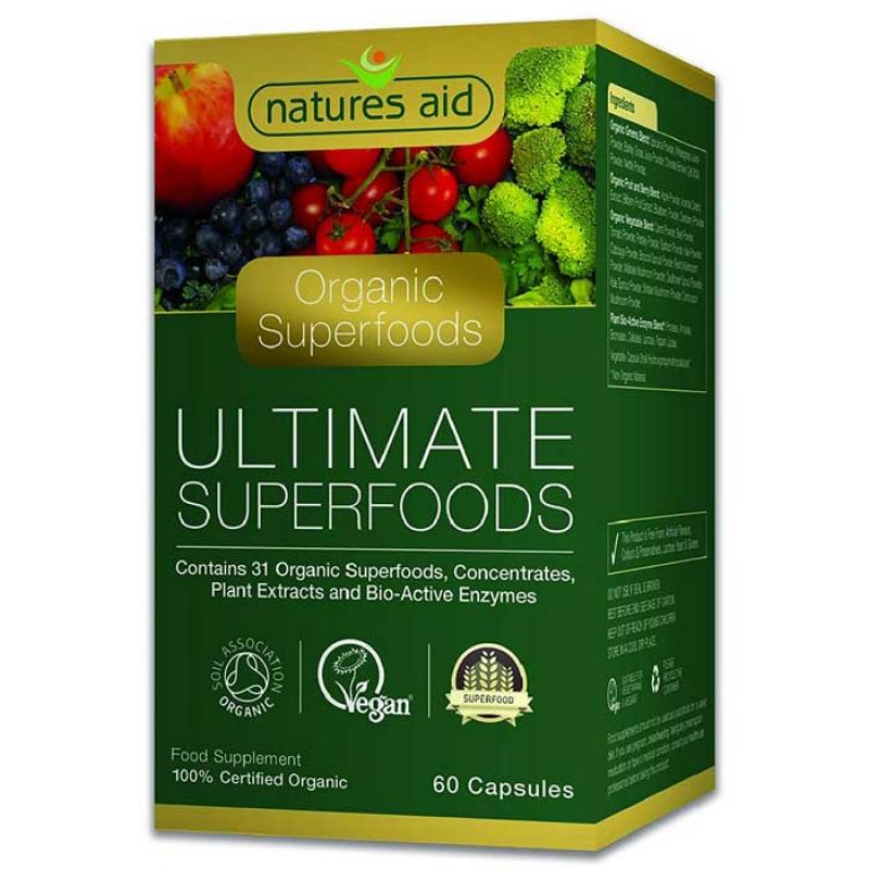 Natures Aid Ultimate Superfoods 60 κάψουλες