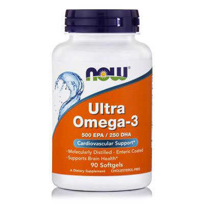 Now Ultra Omega-3 500mg 90 Μαλακές Κάψουλες